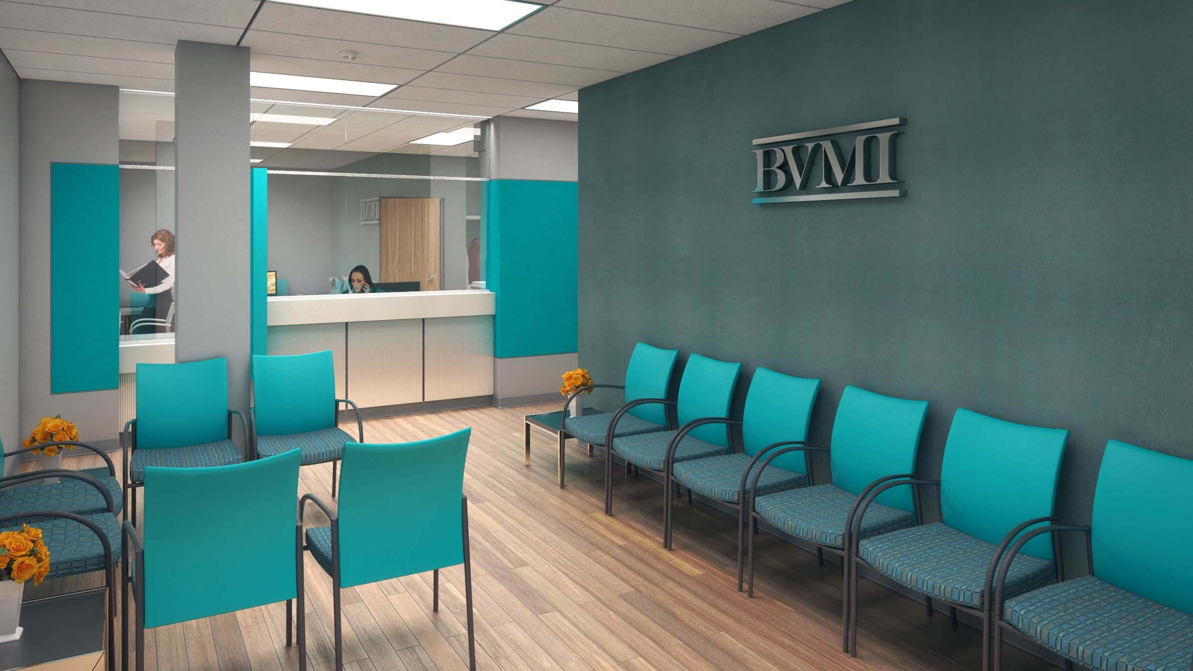 BVMI Reception Area